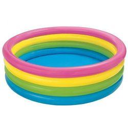 Basen dmuchany Tęcza 4 pierścienie 168 x 46 cm INTEX 56441