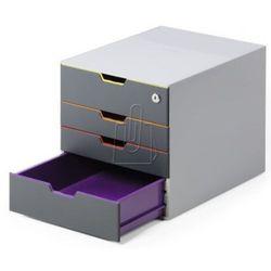 Pojemnik Durable Varicolor Safe z 4 szufladami 7606-27
