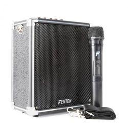 """Fenton ST040, wzmacniacz przenośny, akumulator, Bluetooth, USB, głośnik niskotonowy 6,5"""", 40 W"""