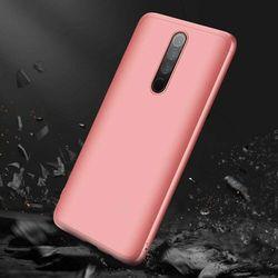 GKK 360 Protection Case etui na całą obudowę przód + tył Xiaomi Redmi 8 różowy - Różowy
