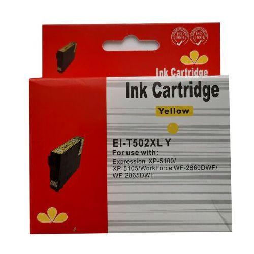 Tusze do drukarek, zastępczy atrament Epson 502XL [C13T02W44010] yellow