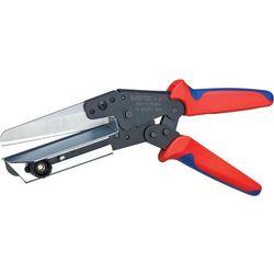 Nożyczki plastikowe Knipex 95 02 21, 4 mm, Odpowiedni do Kanałów kablowych