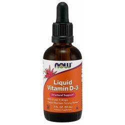 NOW Foods Płynna witamina D-3 59 ml