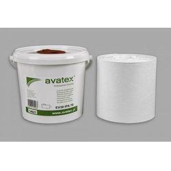 Ściereczki nasączone alkoholem do mycia powierzchni Avatex Static Control - wiaderko 250 sztuk