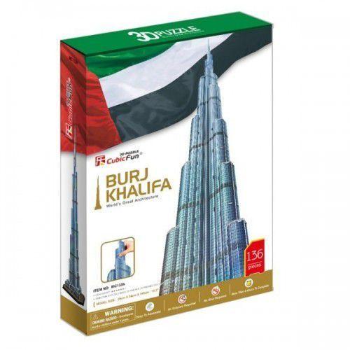 Puzzle, Puzzle 3D Burj Khalifa - 136 dílků neuveden