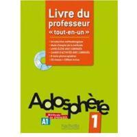 Książki do nauki języka, Adosphere 1 A1 podr.nauczyciela /CD gratis/ (opr. miękka)