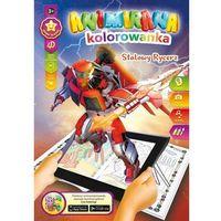 Kolorowanki, Kolorowanka A4/8 4D Stalowy Rycerz - Panta-Plast