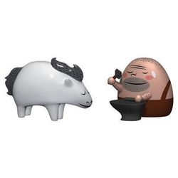 Porcelanowe figurki Trotto & Ernesto