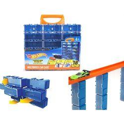 Mattel Hot Wheels Modułowa skrzynka na samochodziki 18 miejsc HW354003