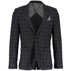 Burton Menswear London OVERCHECK Marynarka grey