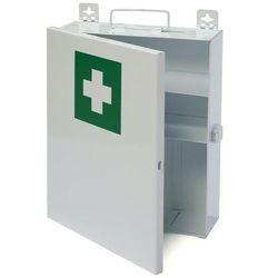 Apteczka metalowa szafka zamykana klamrą - Super Cena - Autoryzowana dystrybucja - Szybka dostawa