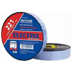 Taśma izolacyjna samowulkanizująca Electrix 221 19mm x 7,5mb grubość: 0,15mm