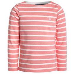 GANT BRETON STRIPE BOATNECK JUMPER Bluzka z długim rękawem strawberry pink