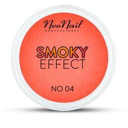 NeoNail SMOKY EFFECT Pyłek No 04 (pomarańczowy/czerwony)