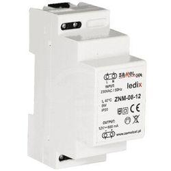 Zasilacz LED modułowy 12V DC 8W ZNM-08-12 LDX10000016