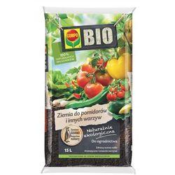 Ziemia do pomidorów i warzyw Compo Bio : Pojemność - 15 l