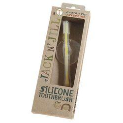 Silikonowa szczoteczka do zębów z blokadą Jack N'Jill - STAGE 2 JJN05666