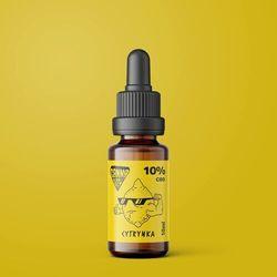 Olej CBD CannaBeFit 10% 1000mg 10ml Cytrynowy