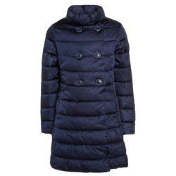 Benetton GIRL Płaszcz zimowy dark blue