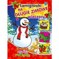 Książki dla dzieci, Łamigłówki na długie zimowe wieczory (opr. miękka)