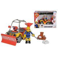 Figurki i postacie, Pojazd Śnieżny Quad Mercury z figurką Strażaka Sama