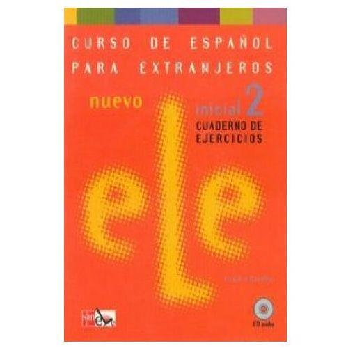 Książki do nauki języka, Ele Nuevo inicial 2 Cuaderno de ejercicios SMEVE - Virgilio Borobio (opr. broszurowa)