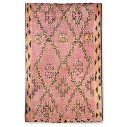 HK Living Ręcznie tkany wełniany dywan berberyjski terra/pomarańczowy (180x280) TTK3042