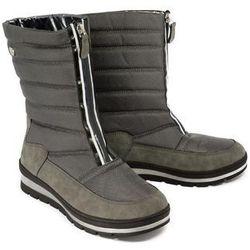 CAPRICE 26417-23 203 dark grey combination, śniegowce damskie
