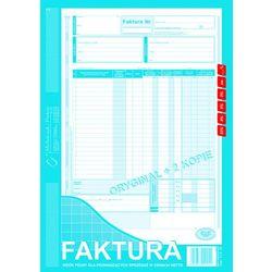 Faktura VAT wzór pełny dla osób prowadżących sprzedaż w cenach netto MiP 112-1E A4