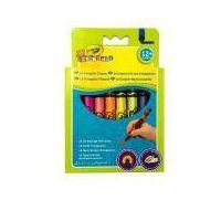 Kredki, Kredki świecowe Crayola trójkątne Mini Kids 16 kol