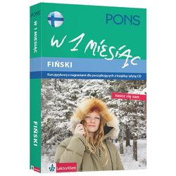 Fiński W 1 Miesiąc. Kurs Językowy Z Nagraniami Dla Początkujących (Książka + Cd) (opr. miękka)