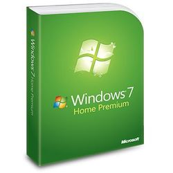 Windows 7 Home Premium, naklejka z kluczem (CoA) 32/64 bit