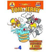 Bajki, Tom i Jerry: Kulinarne potyczki i inne przygody. Kolekcja - część 4 (3xDVD) - Galapagos