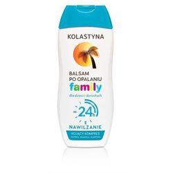 Kolastyna Opalanie Balsam po opalaniu hipoalergiczny dla dzieci i dorosłych Family 200ml