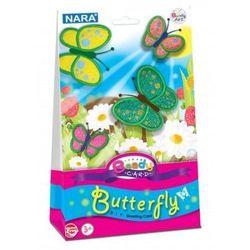 Kartka ozdobna z modeliną Beady card Butterfly