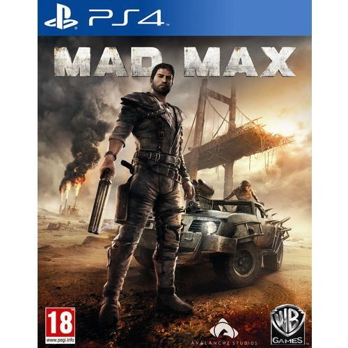 Gry PS4, Mad Max (PS4)