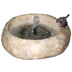 Velda Kamienna fontanna ogrodowa z miską dla ptaków, 851284 Darmowa wysyłka i zwroty