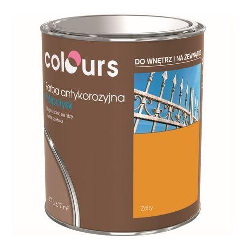 Farby, Farba antykorozyjna Colours żółta 0,7 l