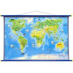 Mapa ścienna midi dla dzieci świat młodego odkrywcy