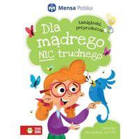 Książki dla dzieci, ŁAMIGŁÓWKI PRZYRODNICZE DLA MĄDREGO NIC TRUDNEGO (opr. broszurowa)
