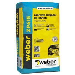 Klej elastyczny do płytek Biały 25 kg WEBER