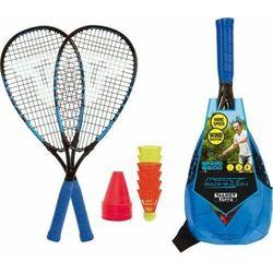 Zestaw speed badminton Talbot Torro Speed s6600 rakiety torba lotki