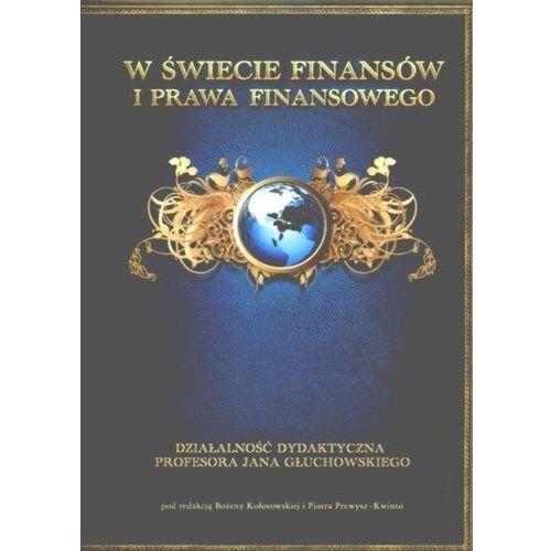 Biblioteka biznesu, W świecie finansów i prawa finansowego - Piotr Prewysz-Kwinto