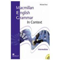Książki do nauki języka, Macmillan English Grammar in Context Intermediate. Książka Bez Klucza + CD (opr. miękka)