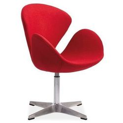 Nowoczesny fotel DEVON red