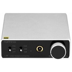 Topping wzmacniacz audio L30, srebrny