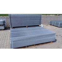 Przęsła i elementy ogrodzenia, Panel ogrodzeniowy ocynkowany Fi5 1530x2500 mm