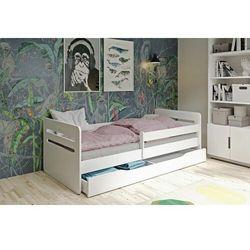 Łóżko dla dziecka, barierka ochronna, tomi, biały, mat