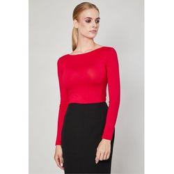 Bluzka z długim rękawem Vares Red - Click Fashion