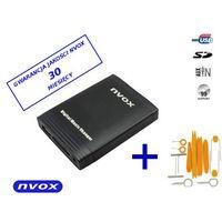 Zmieniarki samochodowe, NVOX NV1086M FORD2 QUADLOCK Zmieniarka cyfrowa emulator MP3 USB SD FORD QUADLOCK